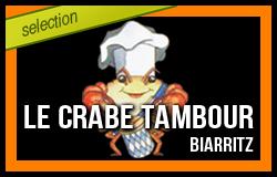 Carre crabe tambour